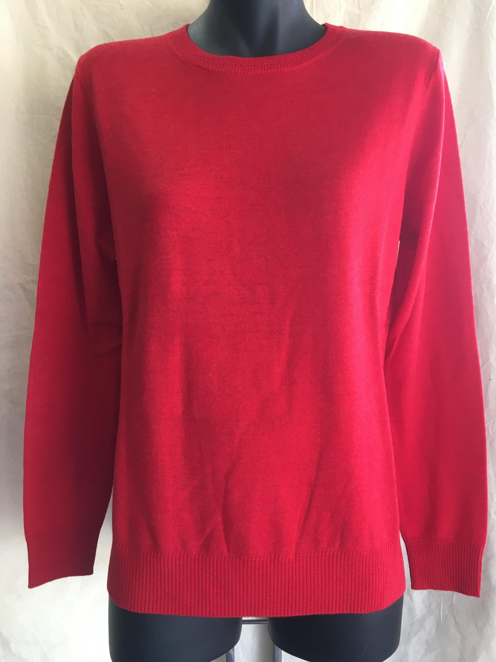 Merino Jumper Red