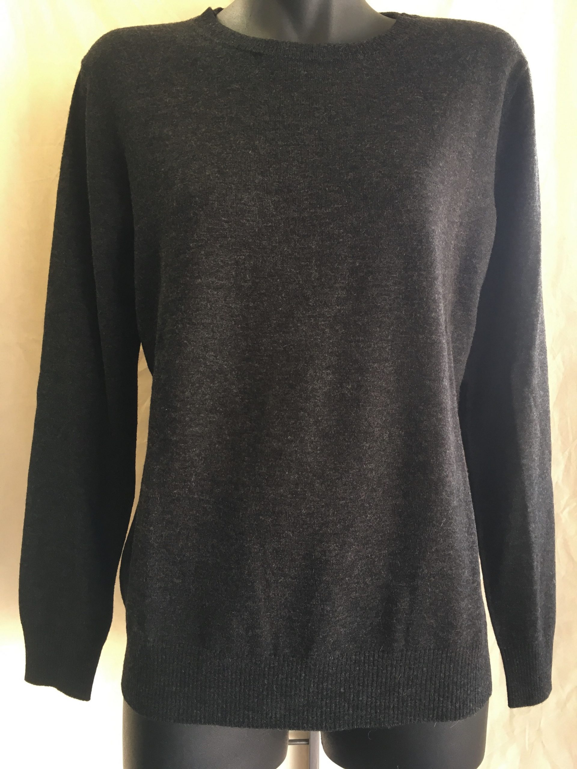 Merino Jumper Charcoal