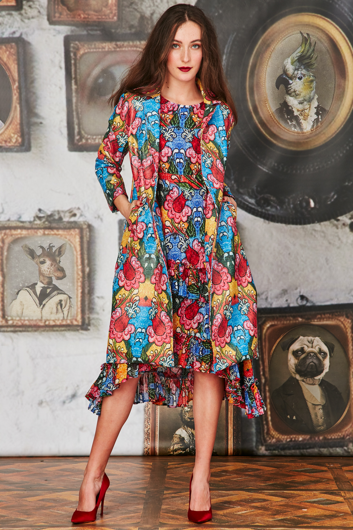 Monet Garden Face The Tunic Dress